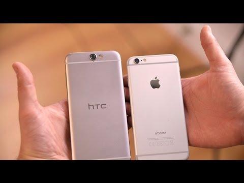 HTC One A9 vs iPhone 6s Comparison