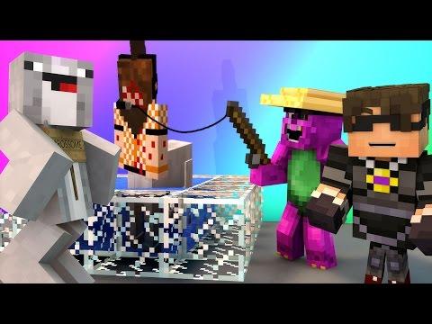 Minecraft Mini-Game : DO NOT LAUGH! (ROSSOME PELVIC THRUSTS?!) w/ Facecam