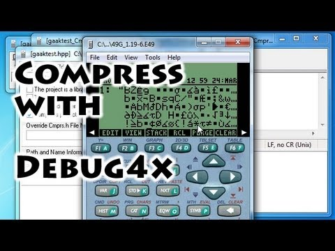 HP calculators: Compress a program with Debug4x - Gaak