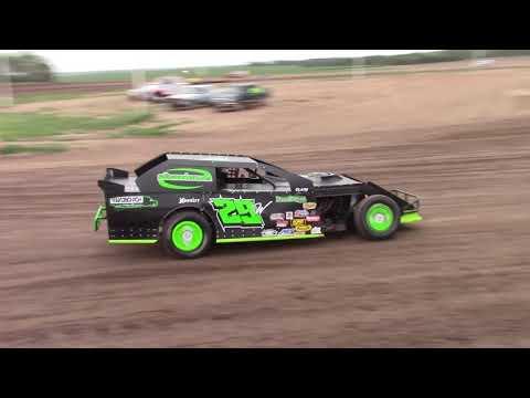 Salina Speedway CSR Mfg. IMCA Northern Sportmods *Hotlaps* 7-27-18