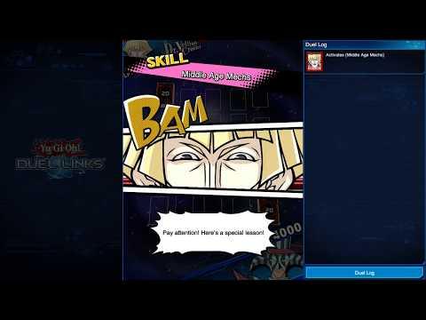 Vionleon(Dark Magician) vs Yankee (Ancient Gears)- YGO DuelLinks Replay