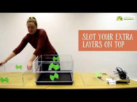 Setting Up Your Vitopod Heated Propagator
