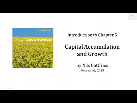 INTRO CHAPTER 5 Capital Accumulation and Growth