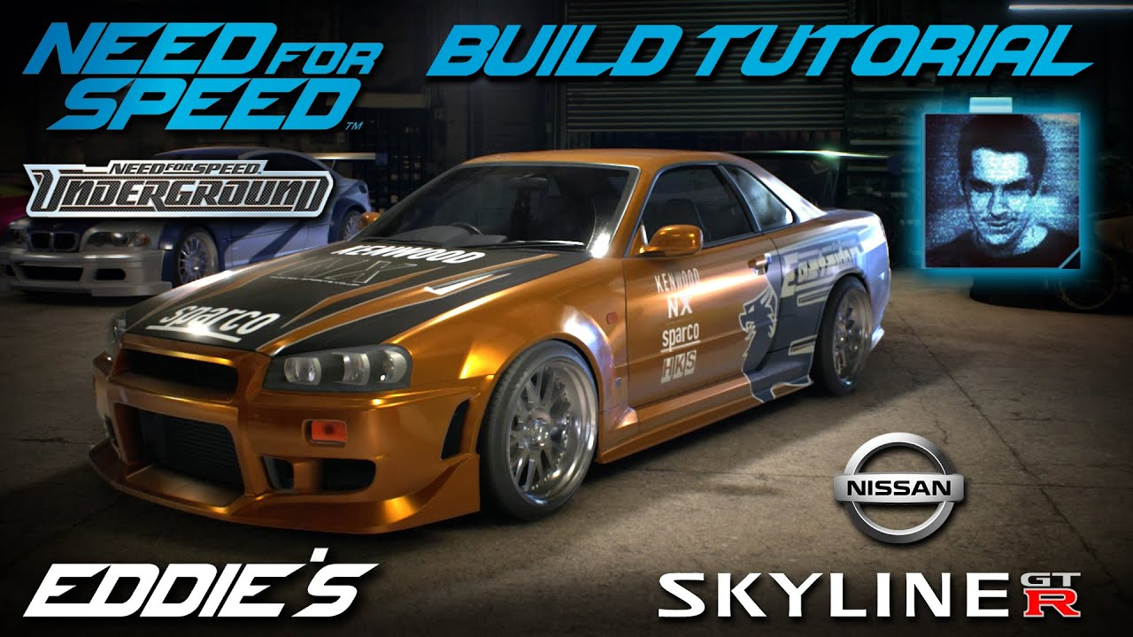 Fast And The Furious 6 Cars Wallpaper Need For Speed 2015 Underground 1 Eddie S Nissan Skyline
