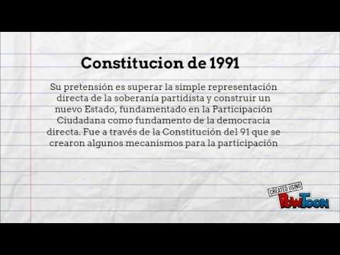 Constitucion de 1886 y 1991 Alejandro Salas
