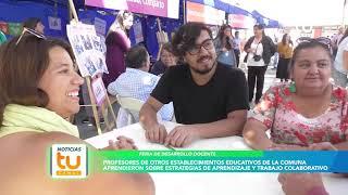 Feria de Desarrollo Docente, Colina.