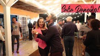 VLOG  Date Nights  New Restaurant & Salsa!