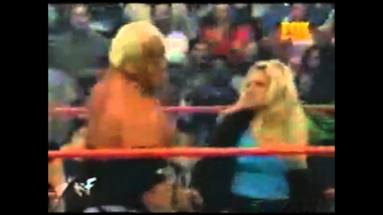 Trish Slaps Rikishi - YouTube Trish Stratus And Jeff Hardy 03.24.2003