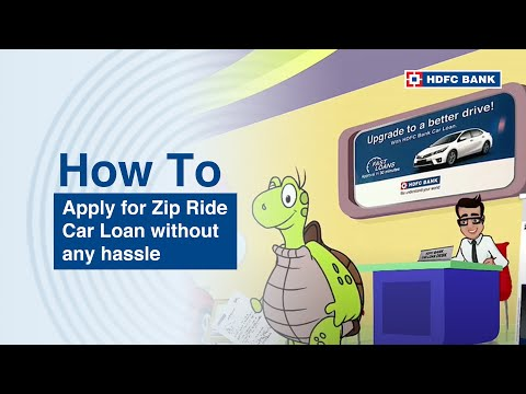Instant car loan. HDFC Bank ZipDrive Instant Car Loan. HDFC Bank, India's no. 1 bank*