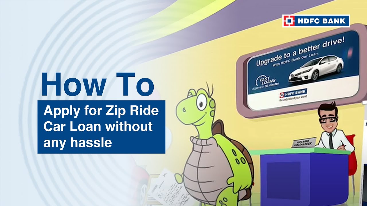 Get Instant car loan with HDFC Bank ZipDrive Instant Car ...