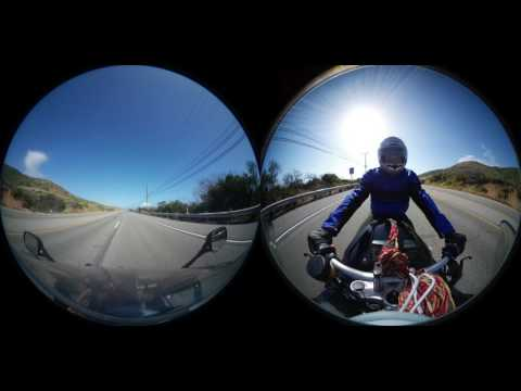 Malibu Ride - Samsung 360 Camera