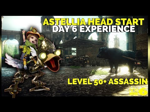 Astellia MMORPG LAUNCH – Day 6 Experience of this Themepark (Level 50+ Assassin)