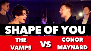 Download Ed Sheeran - Shape Of You (SING OFF vs. The Vamps) Mp3 and Videos