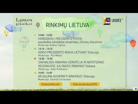 Rinkimų Lietuva | Laisvės Piknikas 2018 | Diskusijos