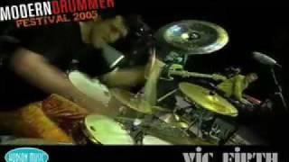 """Jojo Mayer """"Jabon"""" Modern Drummer Festival 2005"""