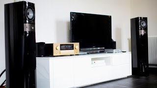Accuphase E-560 - Focal electra - 1028be - Luxman da-06
