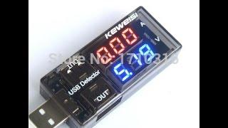 USB тестер напряжения и тока