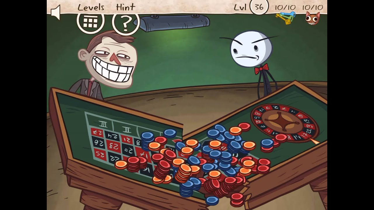 Troll Face Quest Unlucky Level 36 37 38 39 40 41 Solution 100 Missions Game Answers Solution Walkthrough