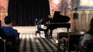 Clase magistral Lluís Rodríguez Salvà - Liszt (parte 1)