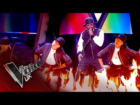 will.i.am performs 'Fiyah' | The Voice UK 2017