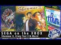 Sega on the Xbox (w/ Happy Console Gamer & Game Sack) / MY LIFE IN GAMING