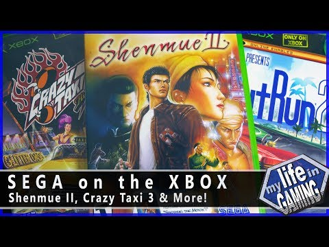 Sega on the Xbox :: Developer Showcase (w/ Happy Console Gamer & Game Sack) - MY LIFE IN GAMING