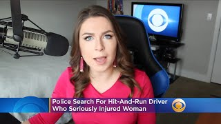 Police Search For Hit-And-Run Driver Who Injured Woman Walking Near Beverly Center