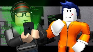 THE LAST GUEST MEETS A HACKER! ( A Roblox Jailbreak Roleplay Story)