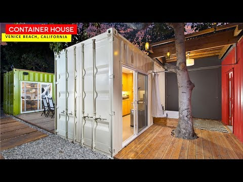 Shipping Container House by IPME in Venice Beach, California