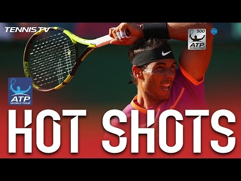 Hot Shot: Nadal Covers The Whole Court In Barcelona 2017