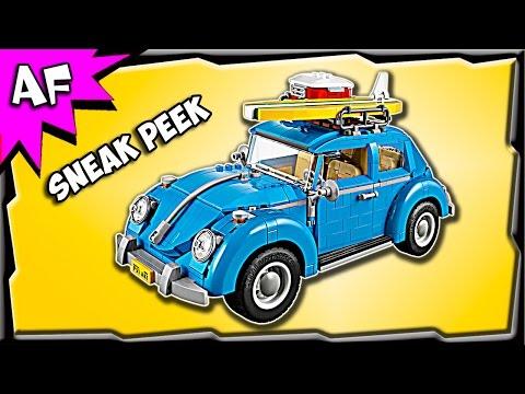 Lego Creator Volkswagen VW BEETLE 10252 Sneak Peek Official Images
