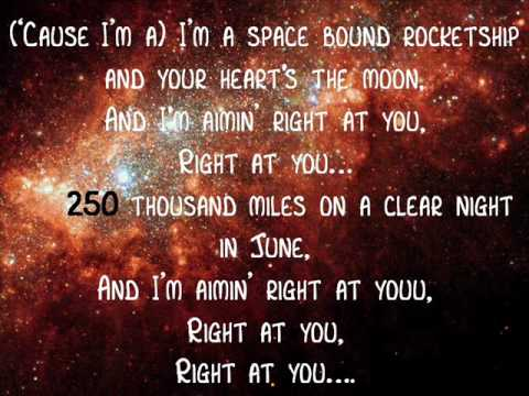 Eminem-Spacebound (Lyrics)