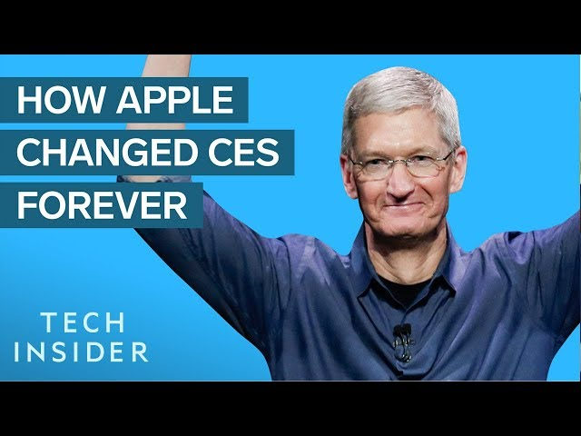 How Apple Changed CES Forever