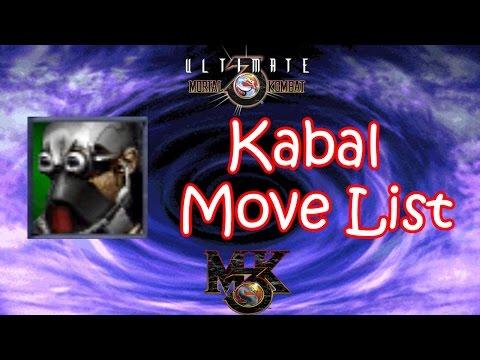UMK3 / MK3 - Kabal Move List