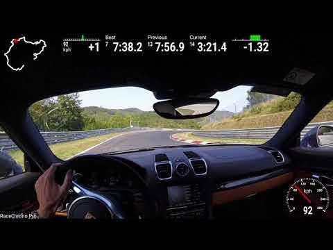 Cayman GTS Nurburgring Nordschleife 7:36 BTG ~7:57 Full Sport Auto Lap
