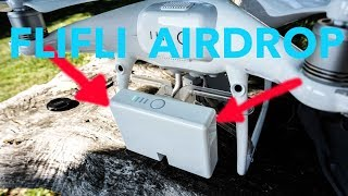 Sganciare oggetti dal Phantom tramite un radiocomando: FLIFLI Airdrop