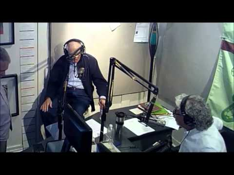 Alan Bergman in the Martini in the Morning studio - April 7, 2014