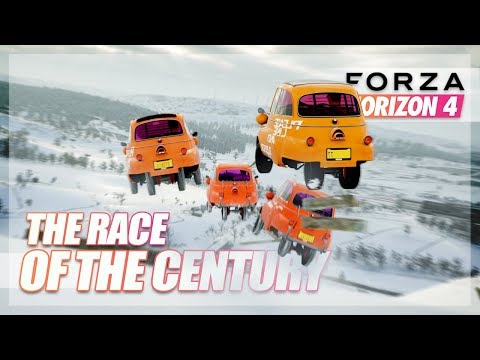 Forza Horizon 4 - The Race of The Century! w/The Crew
