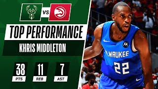 Khris Middleton TAKES OVER With 38 PTS & 20 in 4th Q! 🔥