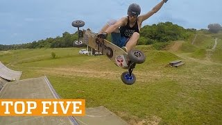 TOP FIVE: Windsurfing, Mountain Boarding & Juggling | PEOPLE ARE AWESOME 2017