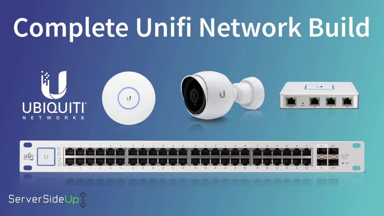 Complete Ubiquiti UniFi + Synology Network Build - Server