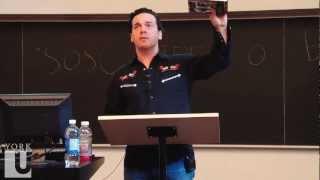 Joseph Boyden, Author of Three Day Road & Riel/Dumont Bio | Canadian Studies | LA&PS | YorkU