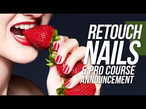 How to Photoshop Nails - Photoshop Tutorial