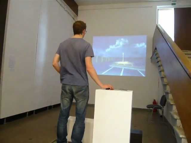 Untitled / Be pavadinimo, 2011, an interactive virtual installation
