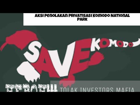 heboh!!!-masyrakat-lakukan-aksi-penolakan-privatisasi-komodo-national-park-#labuanbajo-#floresisland