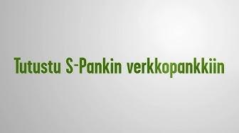 Tervetuloa S-Pankin verkkopankkiin | S-Pankki