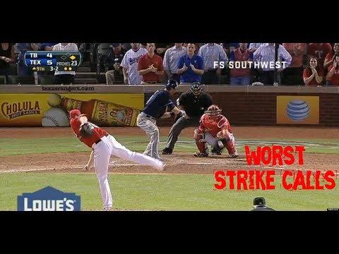MLB: Worst Strike Calls