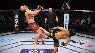 ИДЕМ в ТОП в БОЯХ БЕЗ ПРАВИЛ...НОКАУТЫ в UFC 3