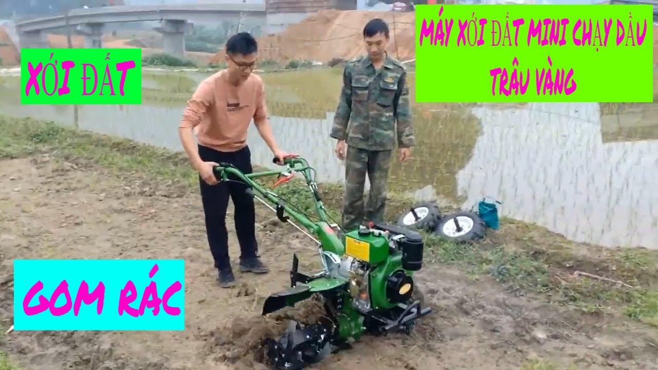 Máy xới đất mini chạy dầu tại xã yên nguyên lh: 0971588456