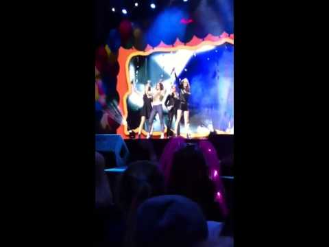B witched live on child line